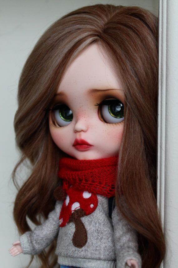 Make Up Your Blythe Doll 2 Easy Ways